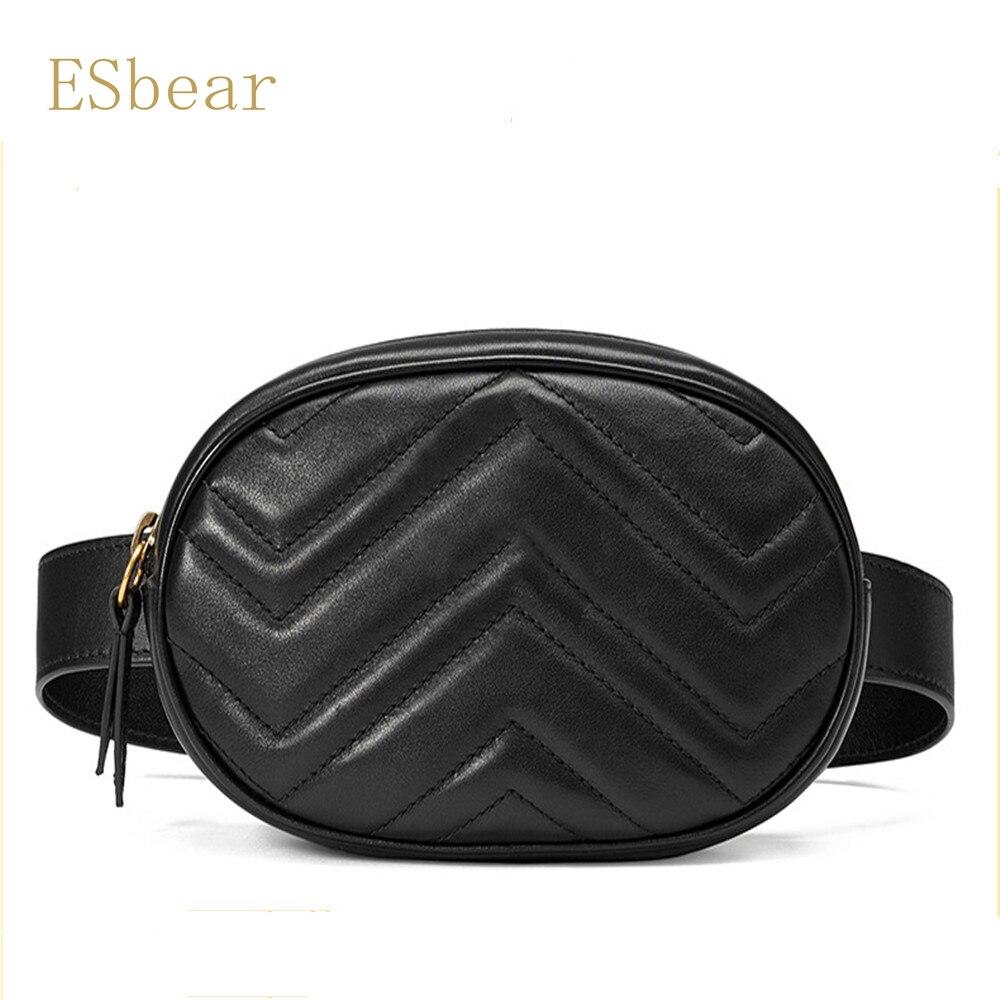 Esbear Shoulder Bag Cowhide Leather Bags Luxury Handbags Women Famous  Brands Fashion for Ladies Bags For Women s Bags-in Shoulder Bags from  Luggage   Bags ... d0c260ec771a2