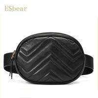 Esbear Shoulder Bag Cowhide Leather Bags Luxury Handbags Women Famous Brands Fashion for Ladies Bags For Women's Bags