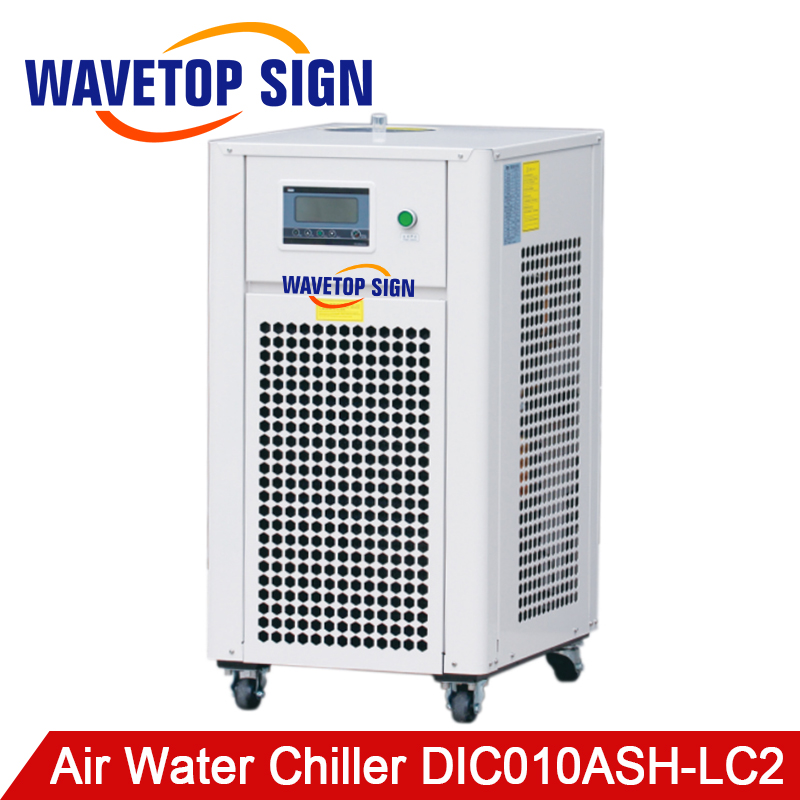 DIC010ASH-LC2 can Replace CW6000 Industry Air Water Chiller for CO2 Laser Engraving Cutting Machine Cooling Laser Tube cw5000 industry air water chiller for co2 laser engraving cutting machine cooling 80w 100w laser tube