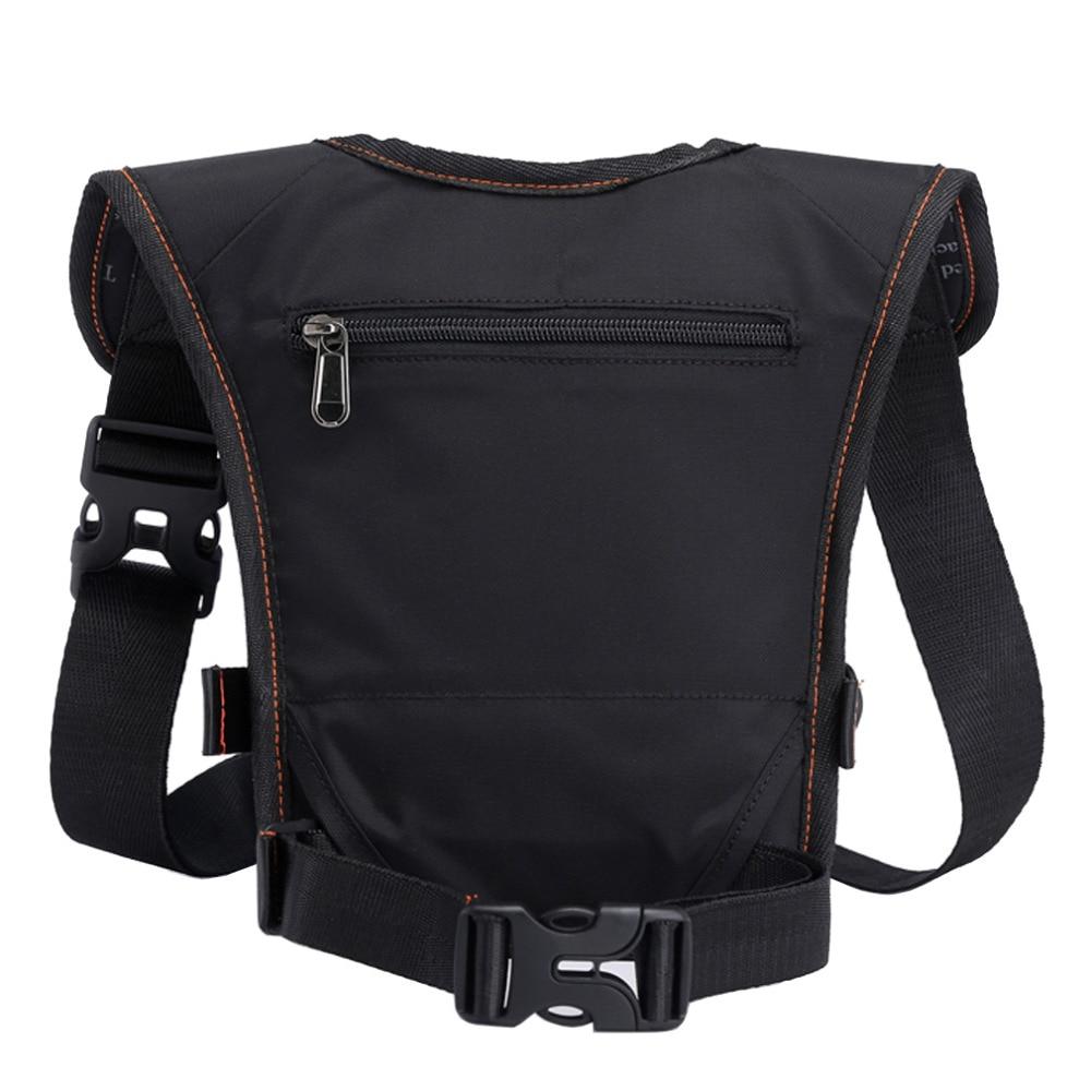 Mænd vandtæt nylon drop ben taske lår hip bum bælte fanny pack - Bæltetasker - Foto 2