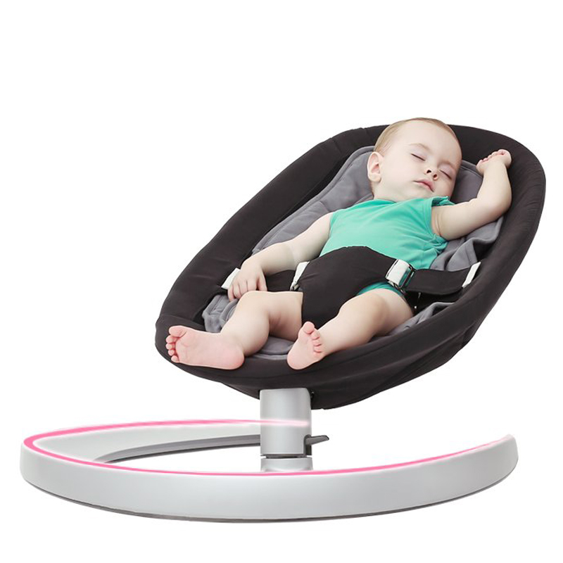 2017 New Baby rocking chai,&Baby deck chair&Baby cradle &coaxing newborn sleep artifact 8 Colors 2017 new babyruler portable baby cradle newborn light music rocking chair kid game swing