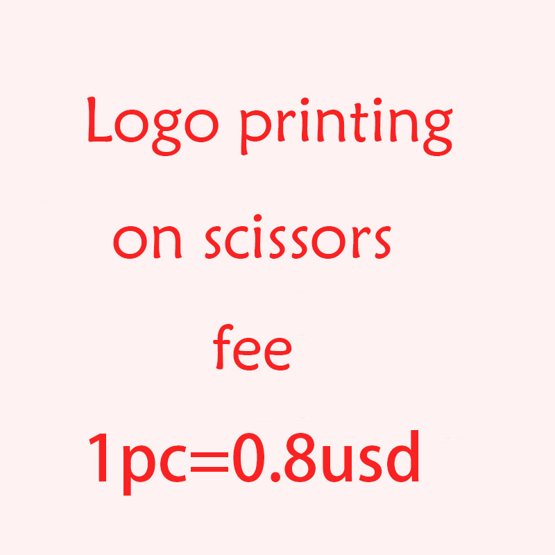 We Can Customized Yourself Logo On Scissors,pls Pay The Logo Printing Fee By This Link.it Is Not For Sale