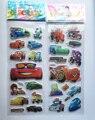 6 шт./компл. 3D Мультфильм Автомобили ПВХ Пухлые Пены Лица детская любовь наклейка для Хвалить детей игрушки