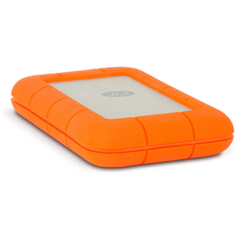 "Image 4 - Seagate LaCie Rugged 1TB 2TB 4TB Thunderbolt and USB 3.0 Portable Hard Drive 2.5"" External HDD Sport HDD for Laptop Desktop-in External Hard Drives from Computer & Office"