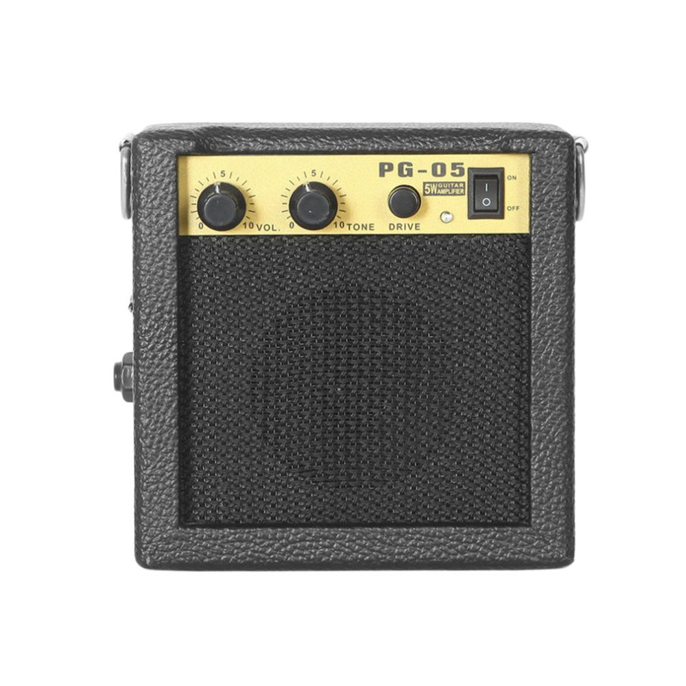 E-WAVE PG-05 5W Mini Guitar Amplifier Guitar Amp With 3 Inches Speaker Guitar Accessories For Acoustic Electric Guitar projector lamp bulb an xr20l2 anxr20l2 for sharp pg mb55 pg mb56 pg mb56x pg mb65 pg mb65x pg mb66x xg mb65x l with houing
