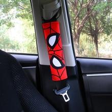 1PC Cool bande dessinée ceinture de sécurité couverture voiture épaule protecteur universel voiture ceintures de sécurité épaulière Auto voiture ceinture de sécurité couvre