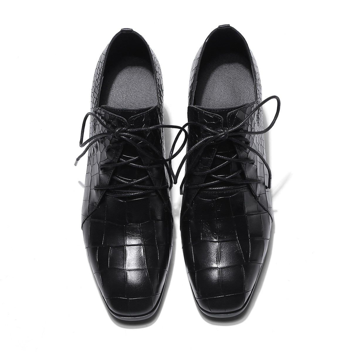 Tacón azul Negro Medio La Con El Cuero Mujeres Bombas Las Zapatos Boda Primavera 2019 Tacones Sales Genuino De Tobillo Mujer HqWS66