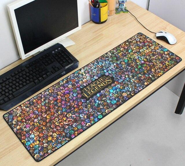 900x300x2 mm league of legends lol de jeu grand supersize tapis de souris surjeteuse de bureau tapis de clavier pour les joueurs drop shipping