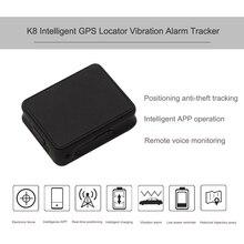 Portable Car Tracker GPS Localizador de Dispositivos de Vibración De Alarma de Localización En Tiempo Real para Bicicleta de Los Niños Perro de Apoyo Teléfono Móvil APP Operación