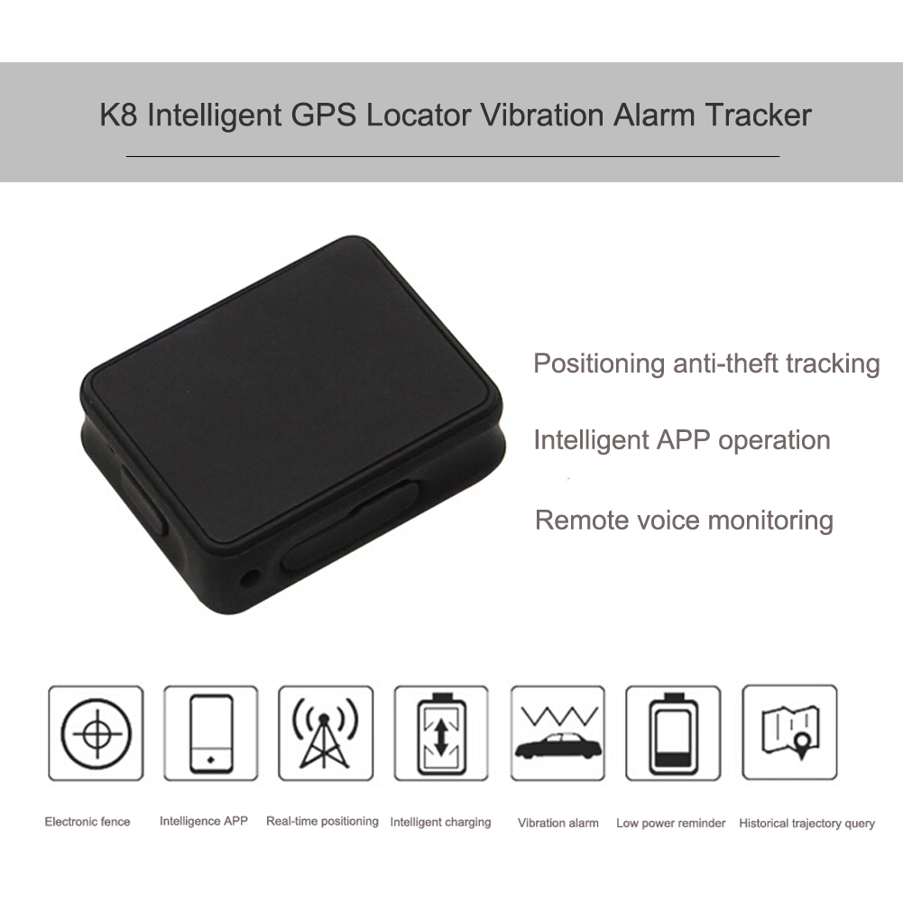 Portable Car GPS Tracker Real Time Location Locator <font><b>Vibration</b></font> Alarm Device for Kids Bike Dog Support Mobile <font><b>Phone</b></font> <font><b>APP</b></font> Operation