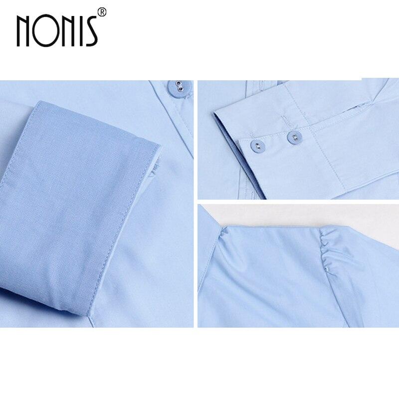 Formale Geschäftsanzughemden für Frauen 2017 neue weiße blau rosa - Damenbekleidung - Foto 5