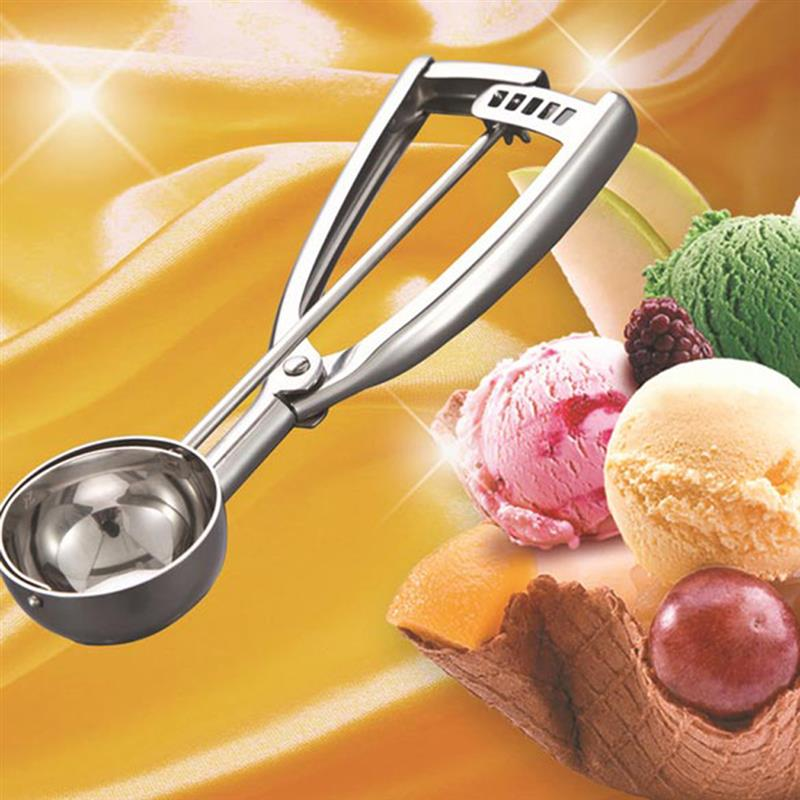 Details about  /6cm//5cm//4cm Ice Cream Mash Potato Food Spoon Scoop Steel Kitchen N7S2