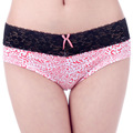 The New Woman Underwear Cotton Lace Sexy Women's Panties Briefs Leopard Print Knickers Intimates Lingerie for Women