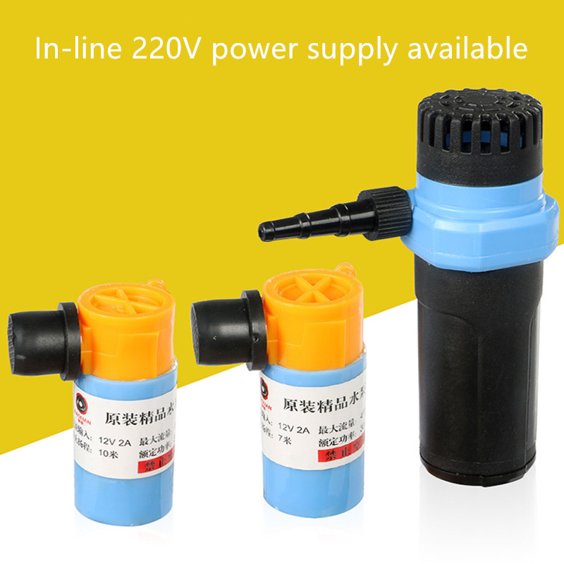 High lift large flow water drilling machine water supply pump submersible pump dc24v brushless water pump mute large flow high efficiency for medical care coffee machine ordinary aquarium water cycle diy
