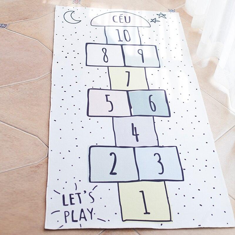 Enfants jeux de sol tapis garçons filles chambre plancher numérique dames tapis tapis bébé ramper salle décoration accessoires jouer tapis - 5