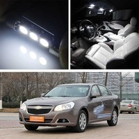 Canbus LED Lamp Interior Map Dome Trunk Plate Light Bulbs For Chevrolet Epica|Signal Lamp|Automobiles & Motorcycles -