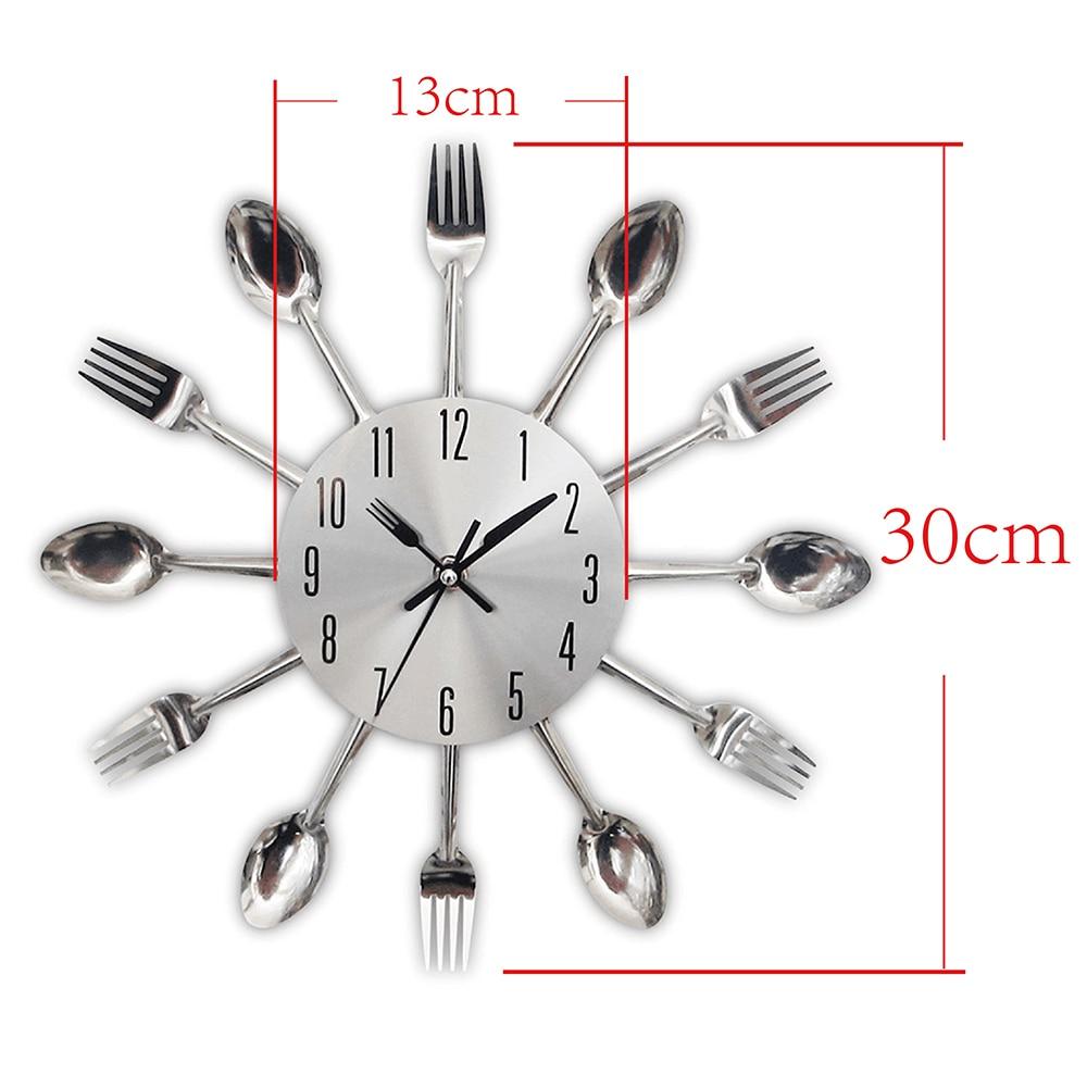 Σχεδιασμός μαχαιροποιίας Ρολόι - Διακόσμηση σπιτιού - Φωτογραφία 6