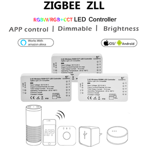 Image 2 - Gledopto zigbee bridge app led 컨트롤러 rgbw 디머 스트립 컨트롤러 dc12/24 v led 에코 zll 표준 led와 호환 가능