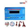 100% original skyrc imax b6 con t enchufe/lcd digital lipo nimh balance de la batería del cargador 2 s-6 s 7.4 v-22.2 v