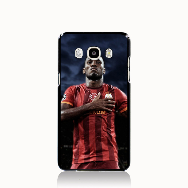 Drogba football star cell phone case cover for Samsung Galaxy J1 MINI J2 J3 J7 ON5 ON7 J120F 2016
