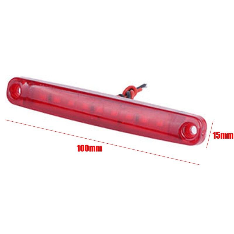 20 штук красного цвета, 9-светодиодный автобуса/грузовика/прицепа грузовик 24V Светодиодный светильник с боковой габаритный фонарь светильни...