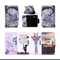 Magnetic PU Leather Stand Case Cover For Samsung Galaxy Tab 3 Lite 7.0 T110 T111 T113 T116 Protective Tablet Cases KF5105D