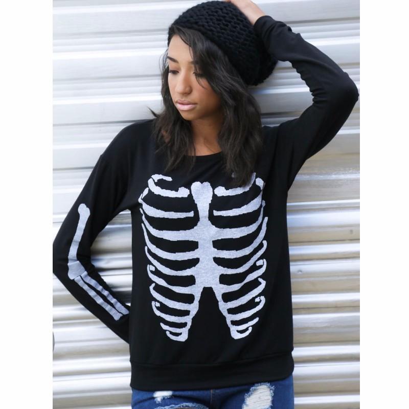 Black-Stylish-Pullover-Skeleton-Print-Sweatshirt-LC25930-2-5_conew1