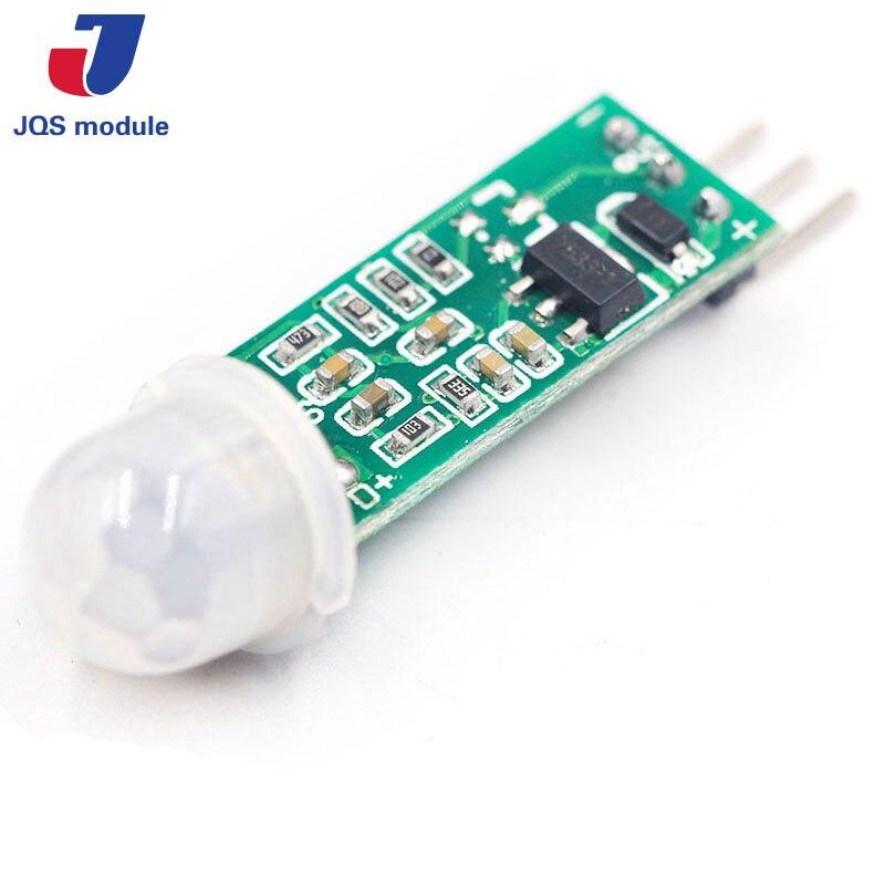 цена на HC-SR505 Mini Infrared PIR Motion Sensor Precise Infrared Detector Module For Arduino Body Sensor Switch Module Sensing Mode