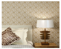 beibehang Fashion decorative painting three dimensional bedroom living room interior non woven classic papel de parede wallpaper