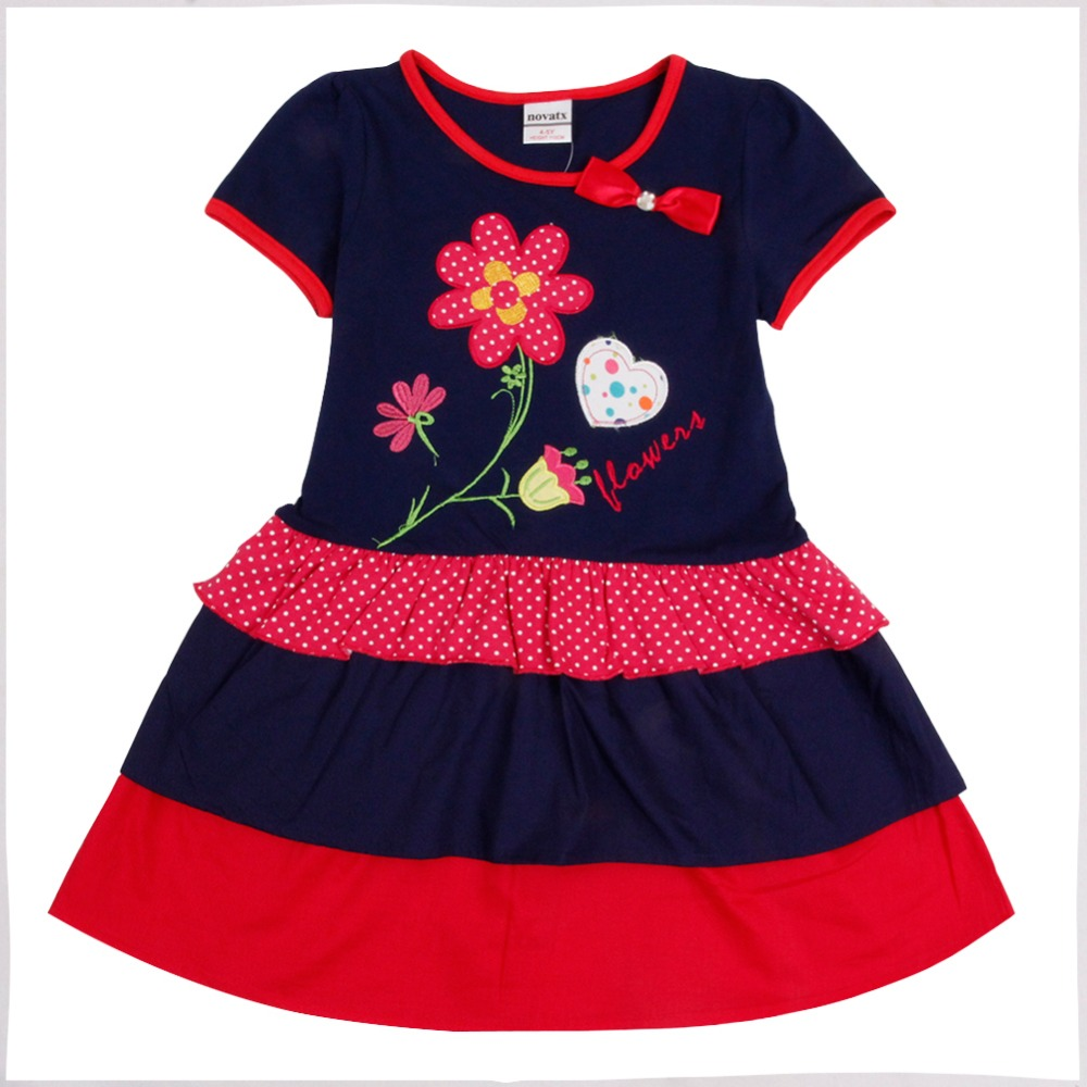 retail kids summer children clothes nova novelty style floral embroidery girl dress 2016 new baby girl clothing retail kids clothes 2016 summer style short sleeve printded lotila floral girl dress nova kids baby girl cloting child wear dress
