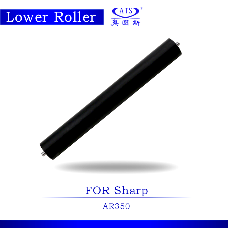 1PCS AR350 Photocopy Machine Lower Fuser Roller For AR 350 Copier Spare Parts pressure roller photocopy machine pressure roller for canon irc3200 irc3220 irc3100 lower roller fuser roller copier parts 3200 3220 3100