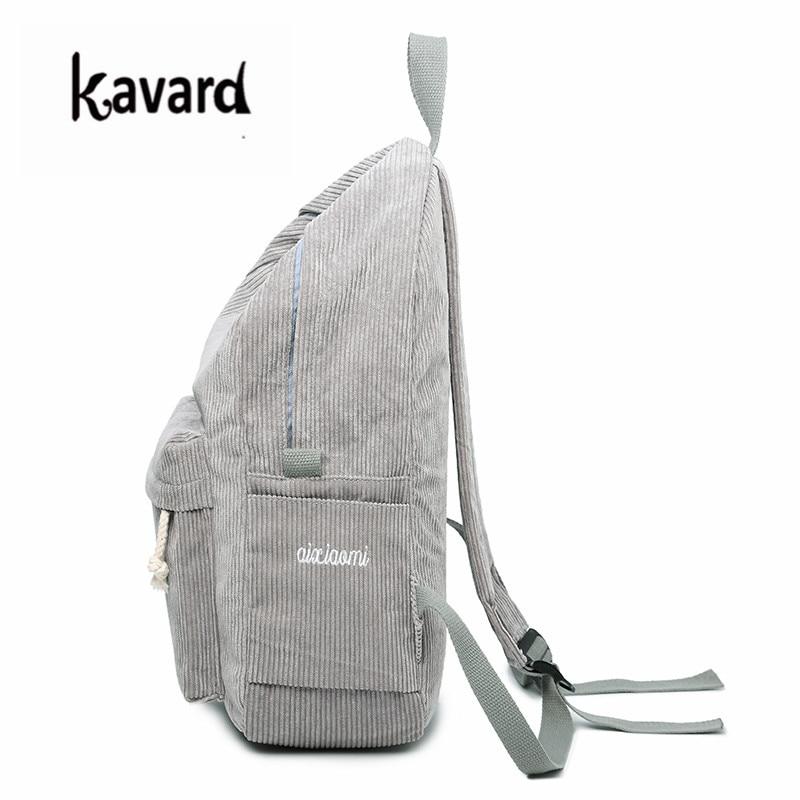 Kavard Backpacks Women Nylon Bagpack Softback Solid Bag Fashion Soft Handle Mochilas Mujer Escolar Rucksack School Bag For Girls #3