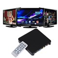 USB 2.0 TV009 iPlayer Media Player with Remote Control DC 5V Support SD Card / USB / VGA Output