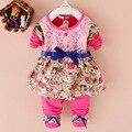 2016 Мода baby girl одежда гадкий я babys комплект одежды 1-3 Год бренд детской одежды устанавливает случайные детские спортивный костюм