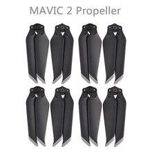 4 pares mavic 2 pro/zoom 8743f lâminas de hélice de liberação rápida de baixo nível de ruído para dji mavic 2 pro/zoom zangão acessórios