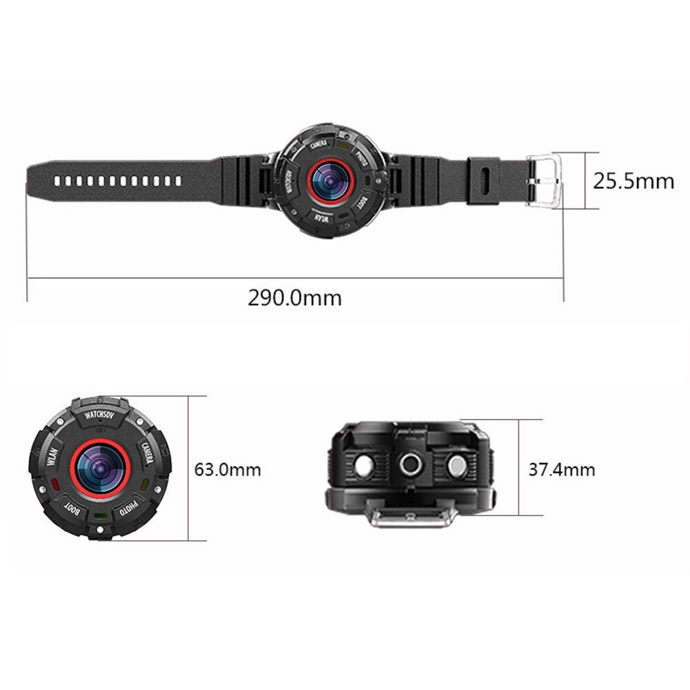 KOMERY Mini Sport Actie Camera HD1080P WiFi Waterdichte 30 M DV 5 pcs groothoek lenzen Night Versie Schieten smart Horloge Camera - 5