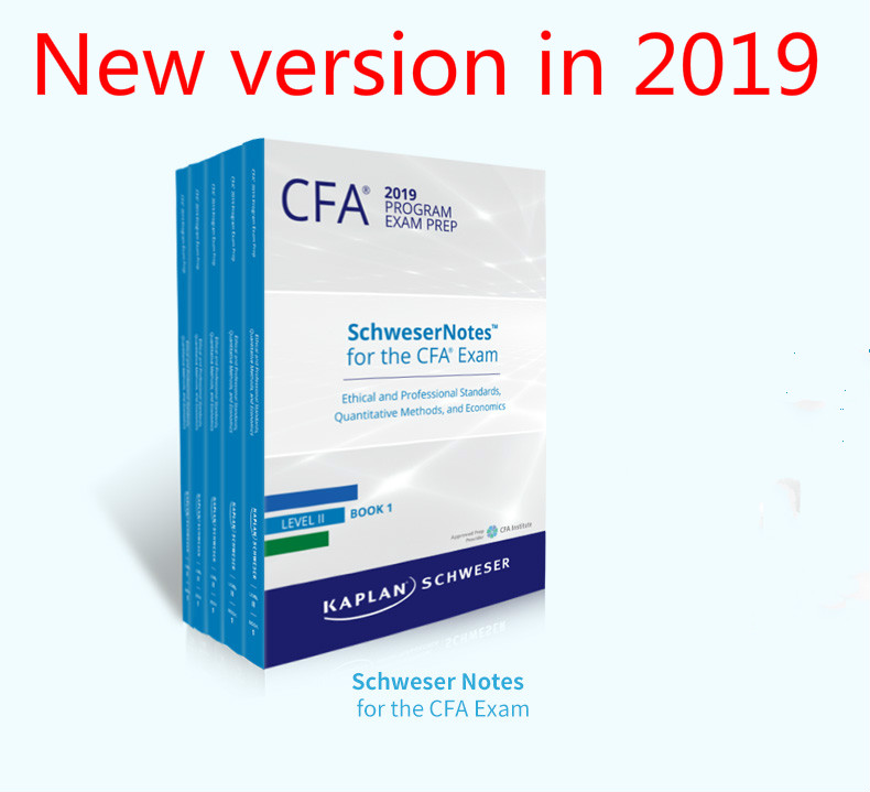 2019 CFA2 Level II Schweser Study Notes