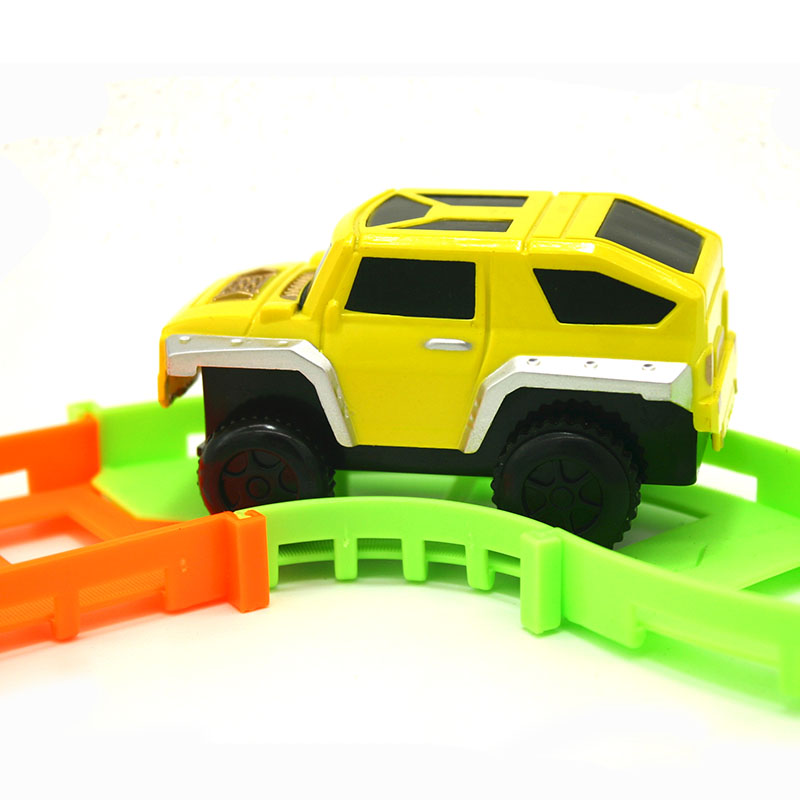 DIY-Track-Electric-Rail-Car-Model-Set-Gift-For-Kids-2