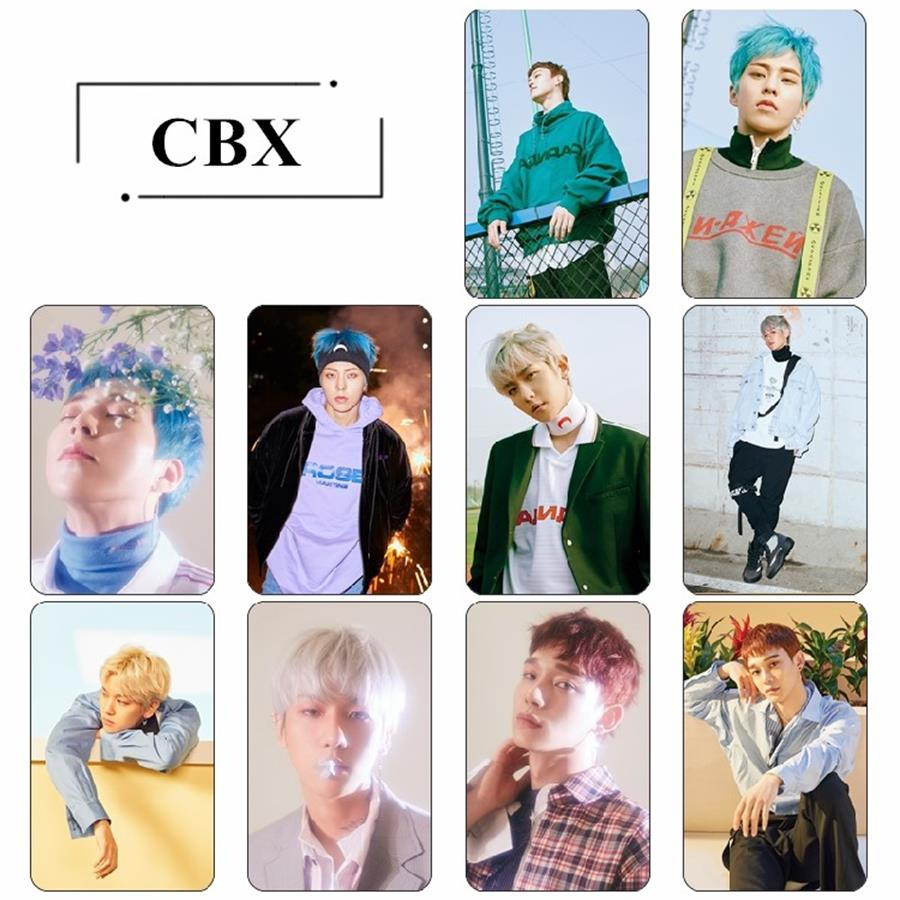 Jewelry & Accessories Kpop Exo Cbx Blooming Days Album Sticky Crystal Photo Cards Xiumin Chen Photocard Sticker Poster 10pcs