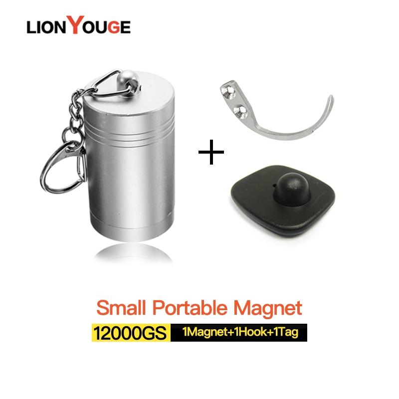 New Arrival! Portable Strong Magnetic Golf Detacher,surforce 12000gs Hard Tag Openner Eas Detacher