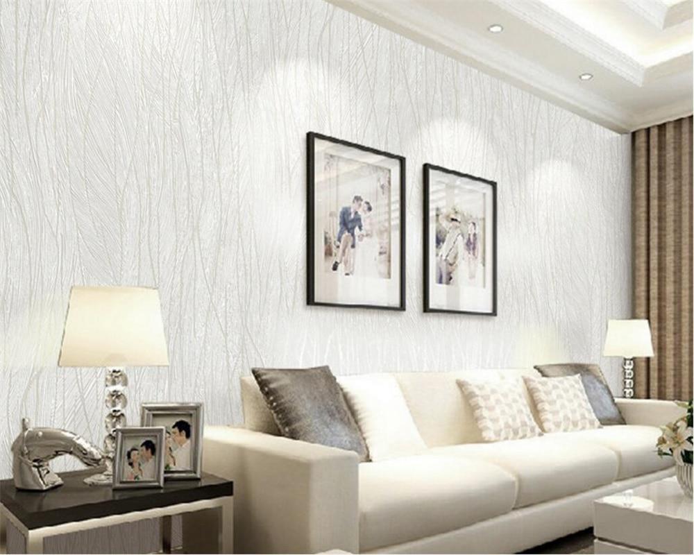 Beibehang Modern wallpaper 3D living room bedroom study background ...
