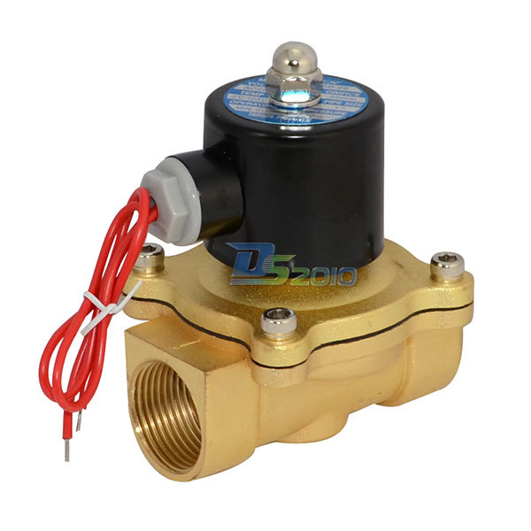 1pc SNS 2W160-15 Electric Solenoid Valve Fluid Air Water Oil Gas AC220V