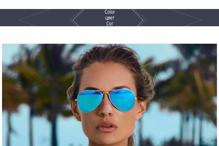 Luxury Aviator Sunglasses Women Men Brand Designer Reflective Mirror Sunglass Female Male Lady Sun Glasses Vintage Retro oculos (28)
