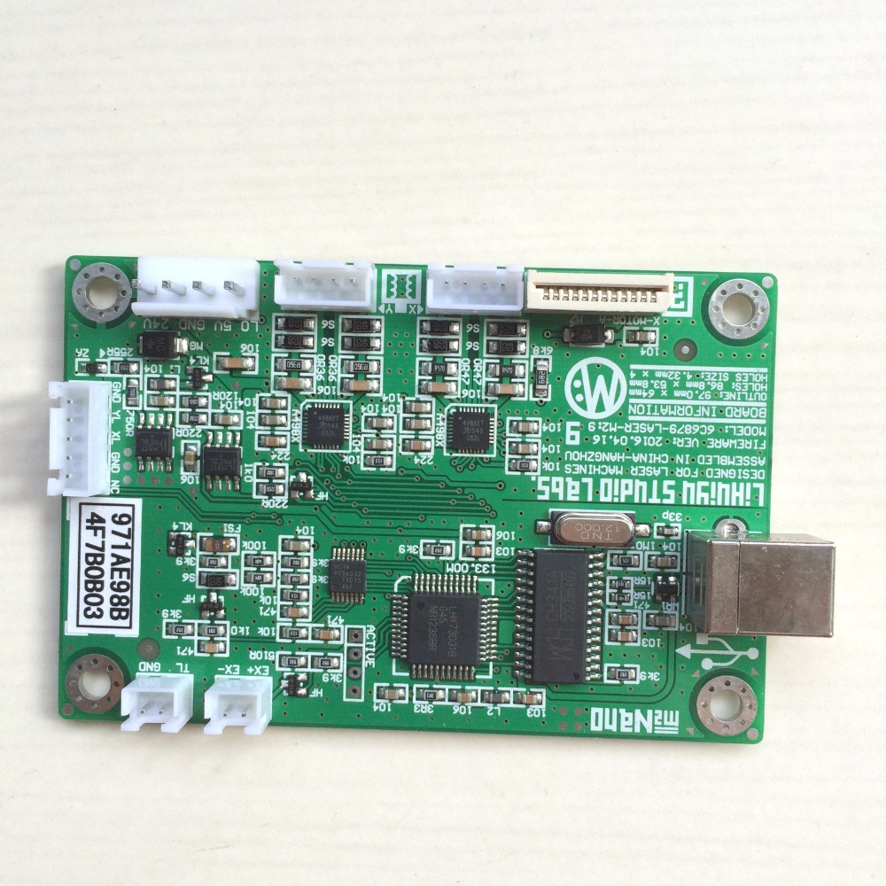Dongle Chinese software Moshi MS10105 Main Board Co2 Laser Engraver Cutter