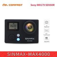 Comfast Ultra HD 4K Wifi Action Camera 1080p HD 60fps Diving Waterproof Helmet Sports DV Cam