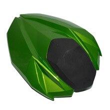Зеленый мотоцикл задние пассажирское жесткий сиденье крышка капота обтекатель сиденье для Kawasaki Ninja Z800 Z 800 2012