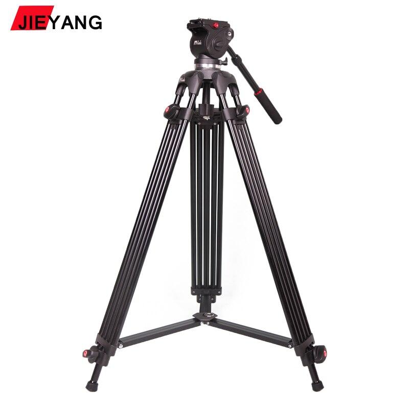 PROGO JIEYANG JY0508B JY 0508B 6 кг высота 185 см профессиональный видео штатив/Dslr видео штатив жидкости головка демпфирования для видео