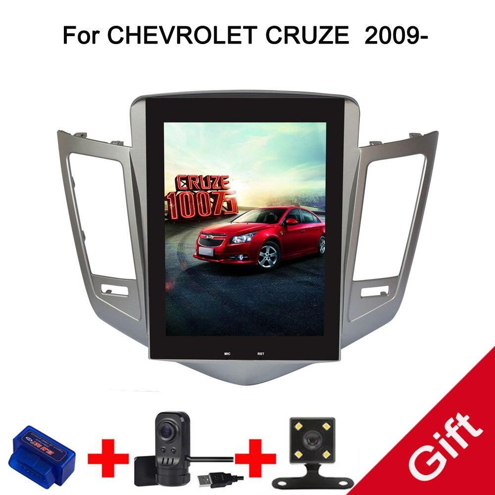 10.4 Tesla TypeAndroid Fit CHEVROLET CRUZE 2009 2010 2011 2012 2013 2014 Car DVD Player Navigation GPS Radio
