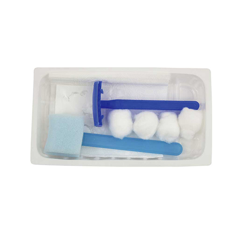 5 Bag EO Sterilization Individual Package Disposable Skin Preparation Kit