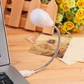 Mini lámpara usb para el cuaderno de flexiable usb noche lámpara de la bombilla para el teclado de lectura portátil notebook envío de la gota promoción